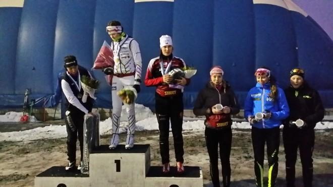 N 18 sarjassa sai kultaa Vilma Nissinen Vuokatti Ski Team Kainuu, hopeaa Emmi Lämsä Alatornion Pirkat, pronssia Ilona Saastamoinen Liperin hiihtoseura.